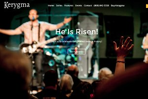 Kerygma - Church WordPress Theme