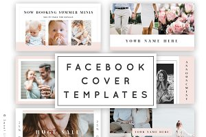 Facebook Cover Template Pack