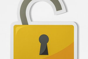 Privacy security open lock (PSD)