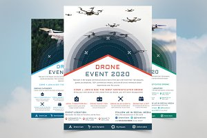 Drone Event Flyer