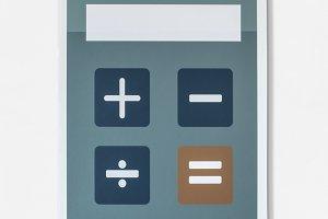 Electronic calculator (PSD)