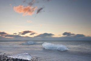 Jokursarlon beach