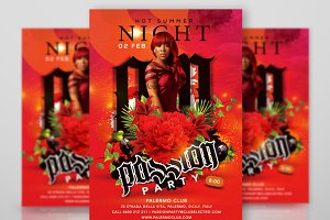 Hot Summer Passion Night Party