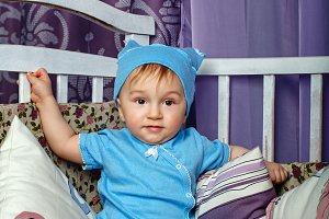 Little boy in nursery