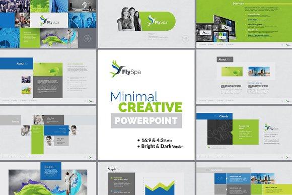 FlySpa Minimal PowerPoint