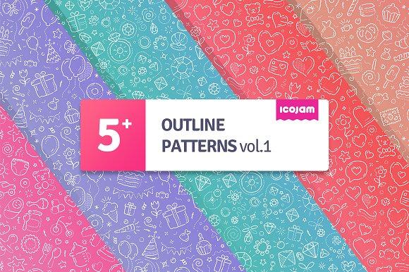 Outline Patterns Vol.1