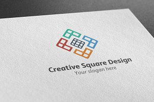Creative Squre Design Logo