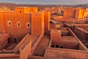 Traditional Moroccan architecture.