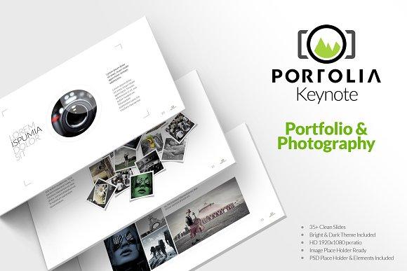 Multipurpose Portfolio Keynote