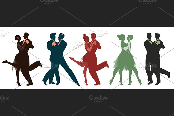 Five Couples Dancing