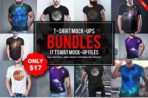 T-shirt PSD Mock-Ups bundles