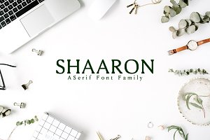 Shaaron A New Serif 2 Font Family