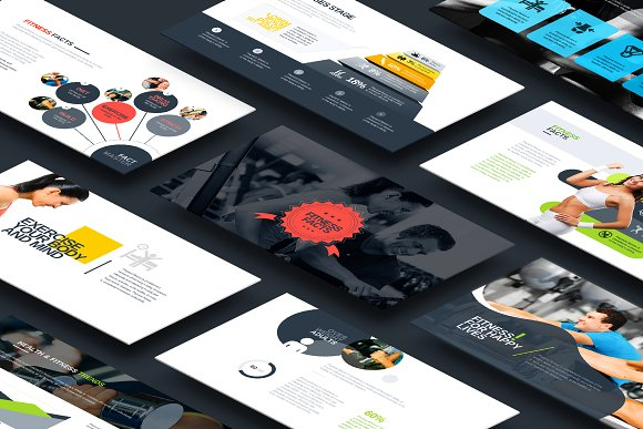 Fitness Gym Keynote Template