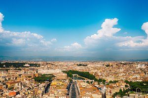 City of Rome and Vatican City
