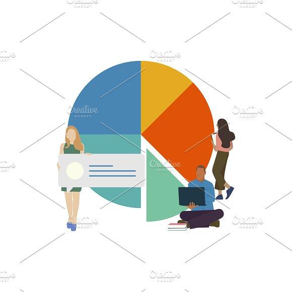 Illustration Of Social Network Data