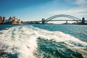 Harbour bridge of Sydney, Australia