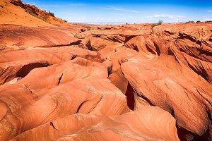Desert sandstone landscape, Arizona
