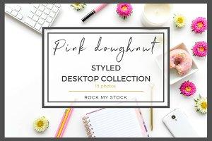Pink Doughnut Desktop Collection