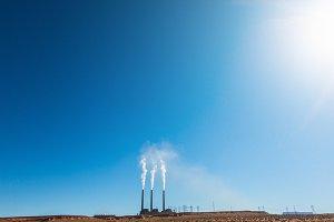 Power Plant in the desert