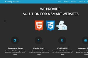 Simply Wonder Zurb Foundation 4