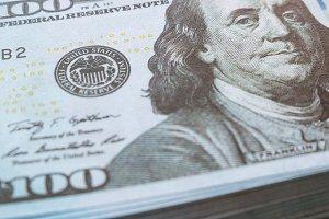 cash hundred dollars close-up