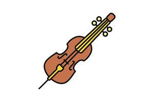 Cello color icon
