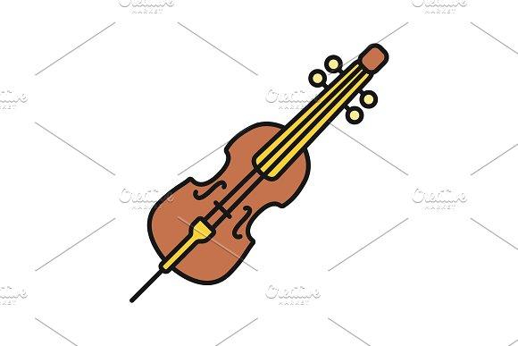 Cello Color Icon