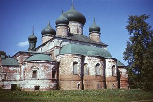 retro photo, Russian orthodox Church