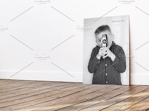 Large Picture Frame Mockup