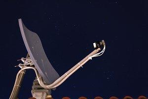 satellite dish receiver