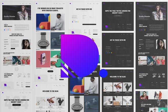 Draxler Creative Portfolio Design