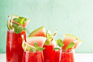 Watermelon summer drink