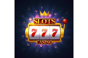 Casino slot or fruit machine, puggy or pokies