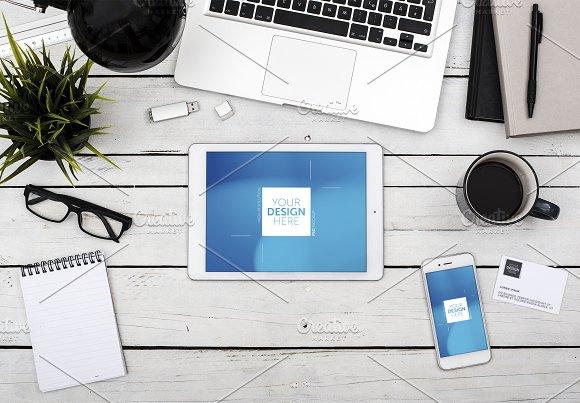 Office Tablet Web Application Mockup