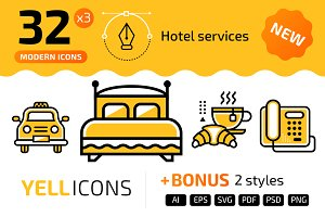 32+ Hotel services : : YELLICONS