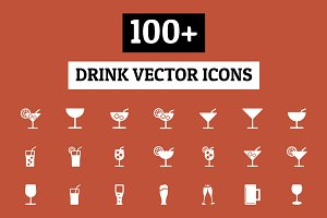 100+ Drinks Vector Icons