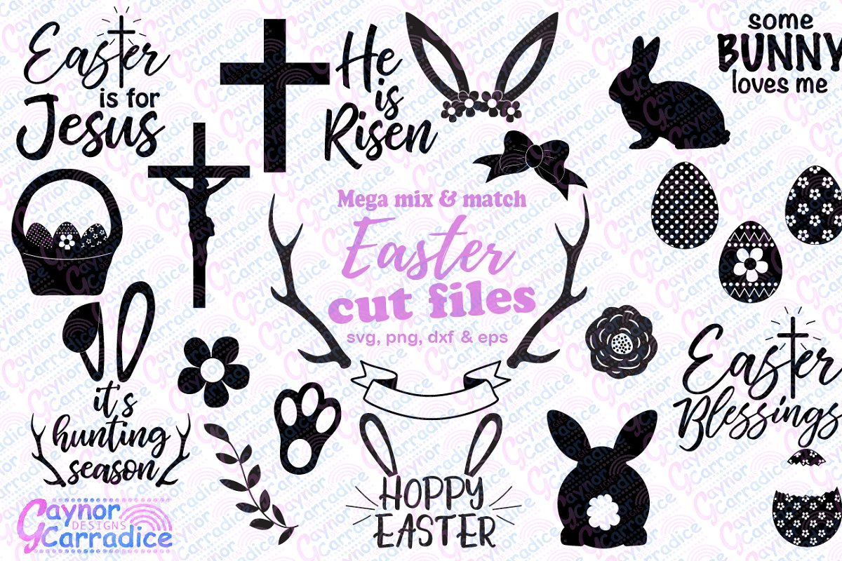Easter svg bundle in Illustrations - product preview 8