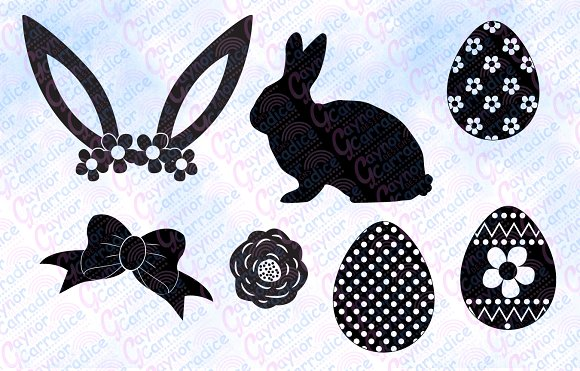 Easter svg bundle in Illustrations - product preview 2