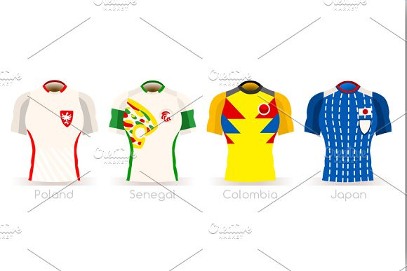 World Cup Group H Team Uniform