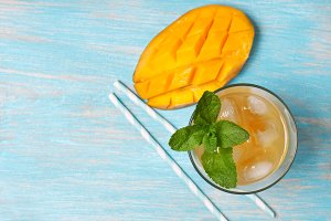 mango ice tea