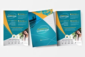 eFinance Poster Template