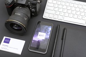 photographers desk mobile app design