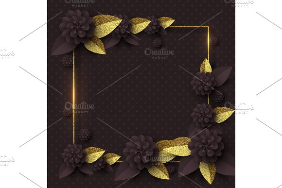 Template For Greeting Card Holiday Background