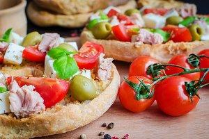 Classical frisella tomato
