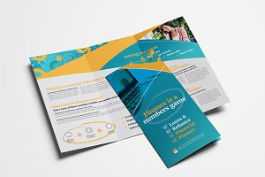 eFinance Trifold Brochure Template