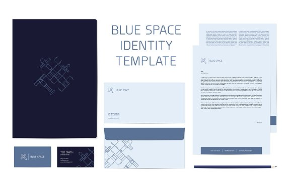 Blue Space Identity Template