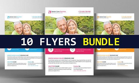 5 Business Flyer Bundle