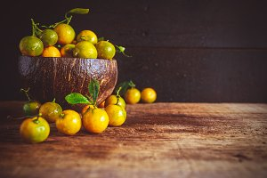 Kumquat fruits
