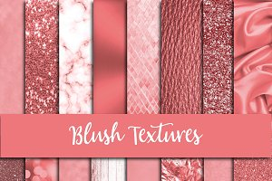 Blush Textures Digital Paper