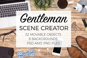 Gentleman Scene Creator Top View